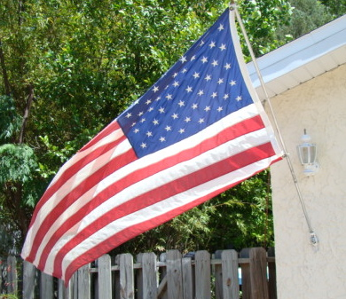 Flag memorial day 2011